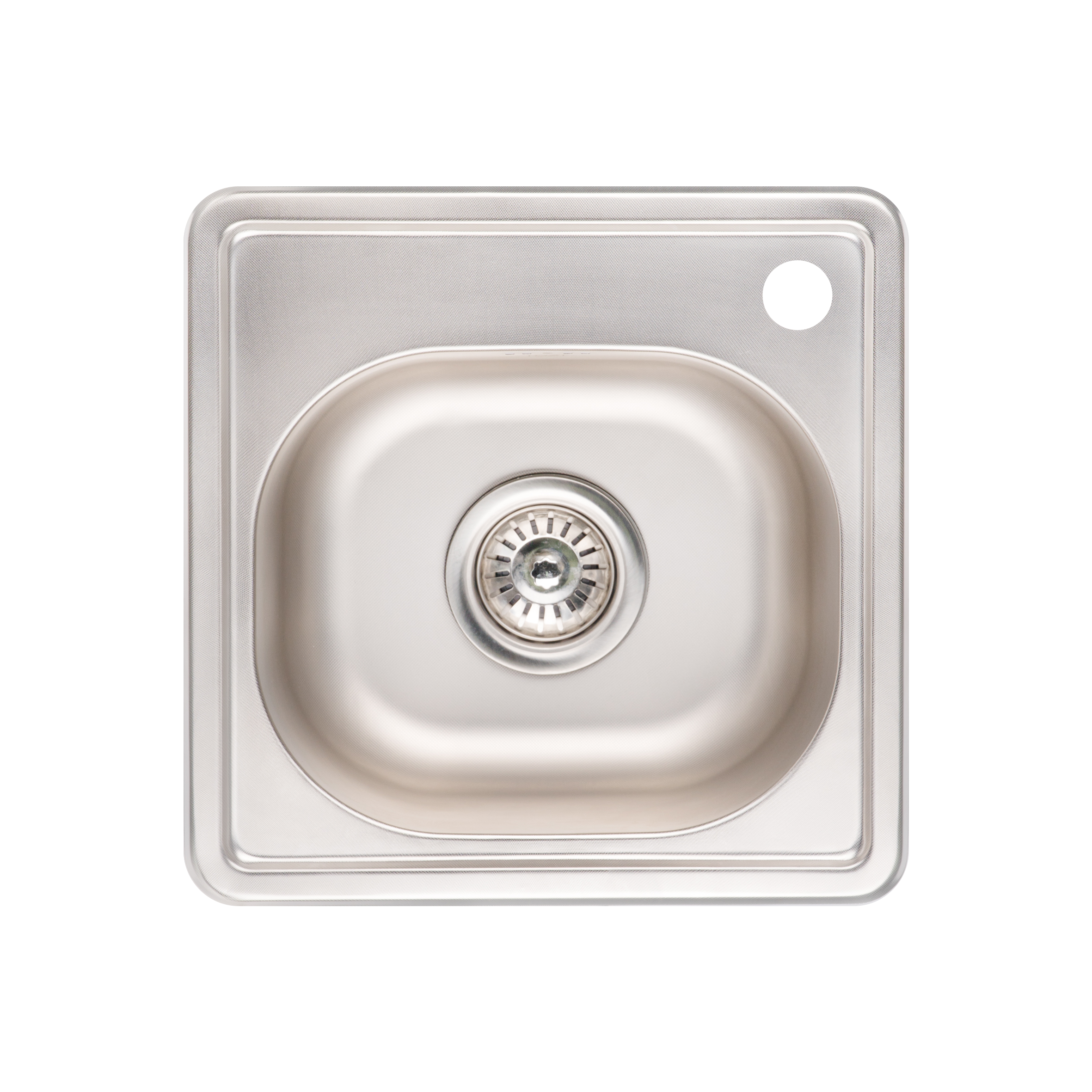 Кухонная мойка Lidz 3838 Micro Decor 0.6мм (LIDZ3838MDEC06)