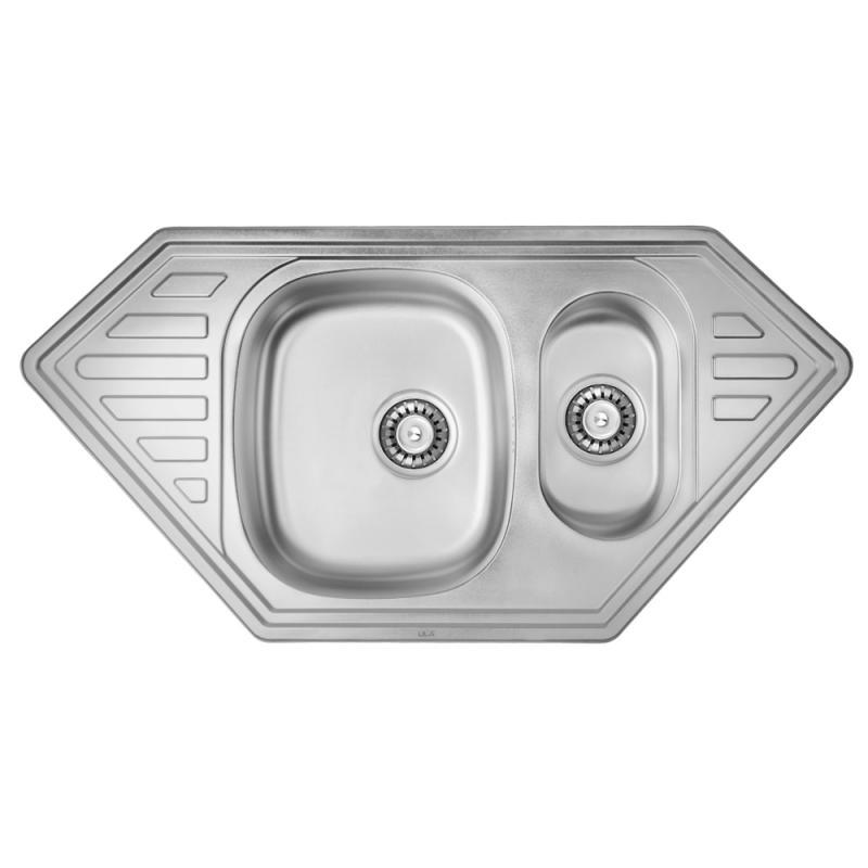 ULA 7802 ZS Satin Кухонная мойка