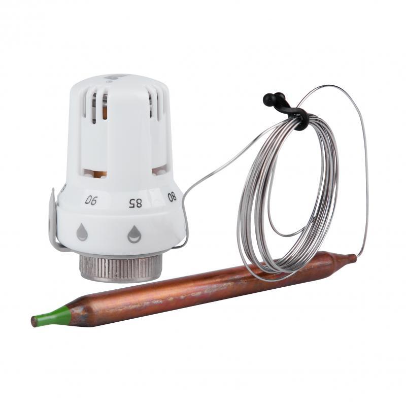"""Термостатична головка з виносним датчиком 30х1,5 (60-90°С) """"Icma"""" Арт. 997"""
