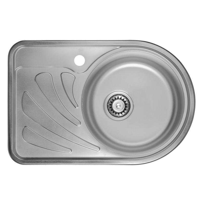 ULA 7111 ZS Satin (R) Кухонная мойка