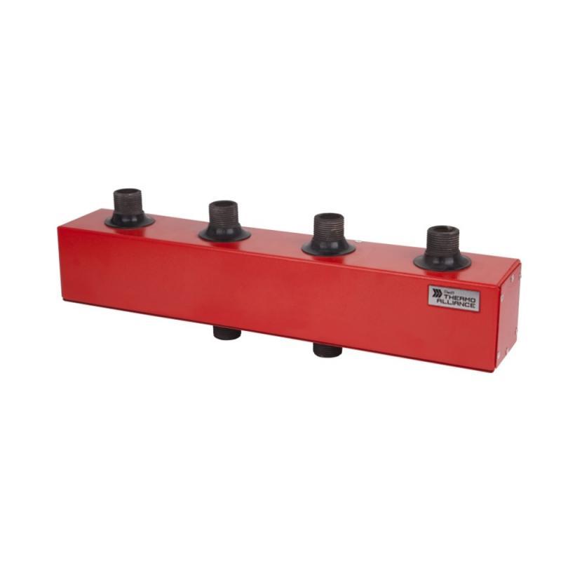 """Колектор розподільний КР-250-2 250 кВт d-2"""" 2 вих. 12,8 куб. м/год"""