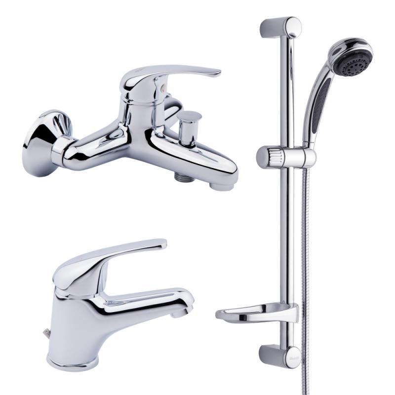 Bianchi Star KITSTR2021#SACRM (KITSTR 2021SA) Смеситель для умывальника,ванны,стойка