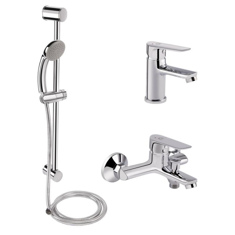 Q-tap Set CRM 35-211 Набор для ванной комнаты 3 в 1