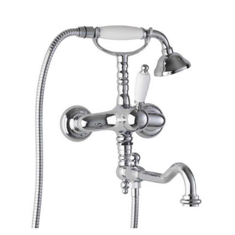 Bianchi Retro VSCRTR1083#00CRM смеситель для ванной с душевым комплектом