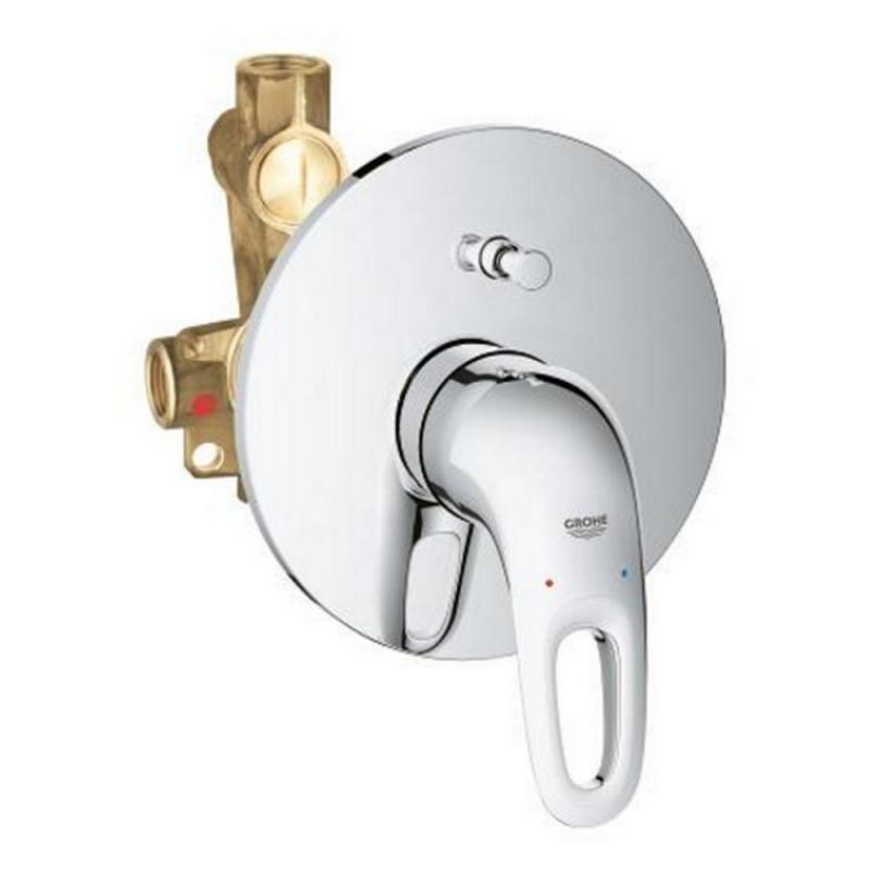 Grohe Eurostyle 33637003 смеситель встроенный для ванной