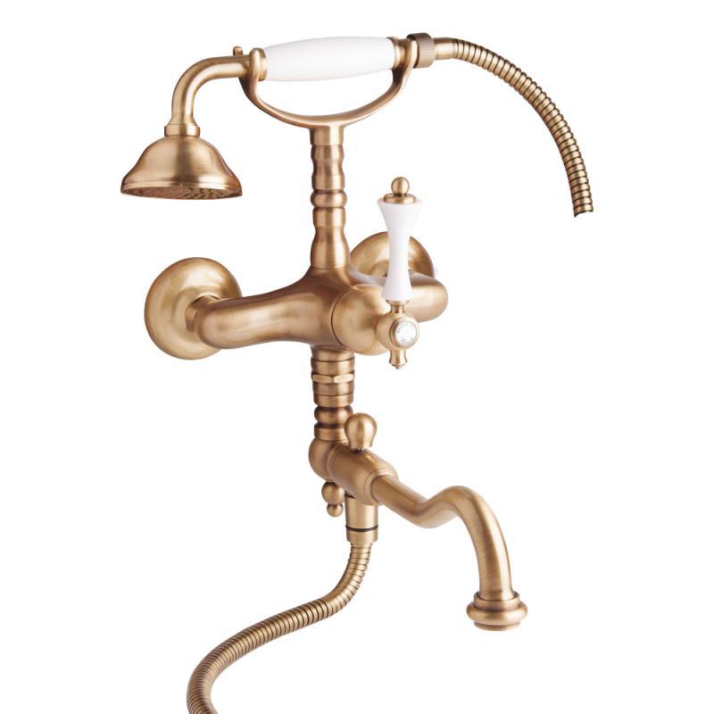 Bianchi Liberty VSCLIB1083#VOT смеситель для ванной с душевым комплектом