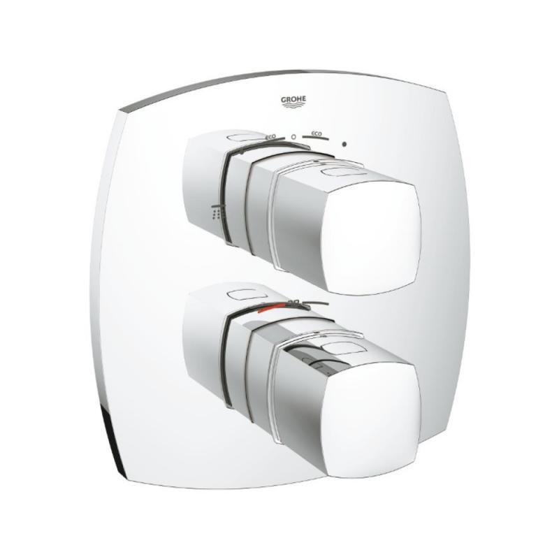 Grohe Grandera 19937000 термостат для душа со встроенным преключателем на 2 положения