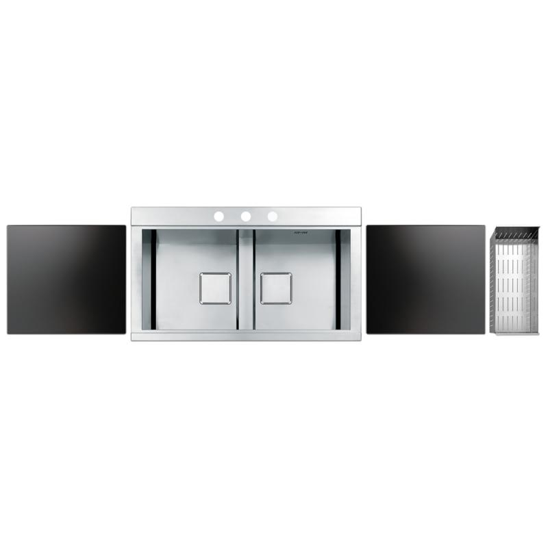 Кухонная мойка Apell SinphoniaPD862IKITB