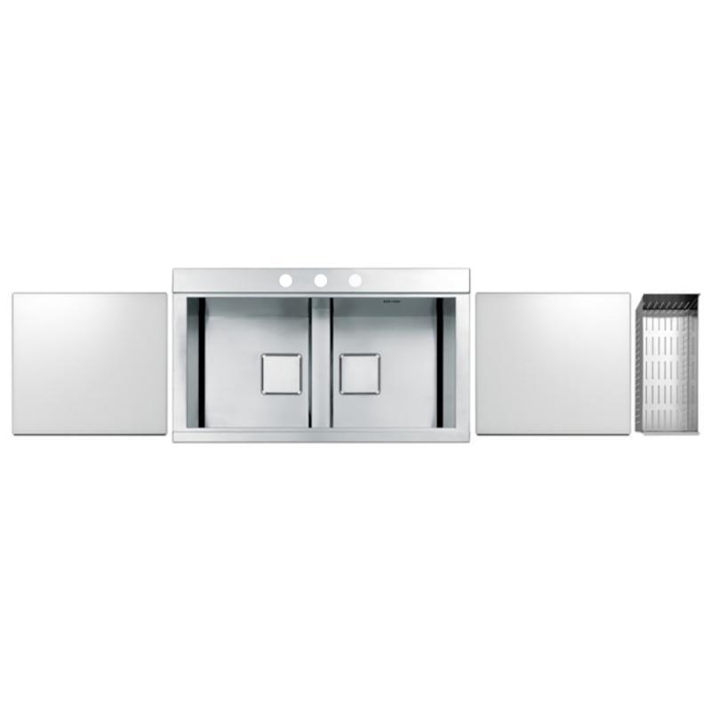 Кухонная мойка Apell SinphoniaPD862IKITW