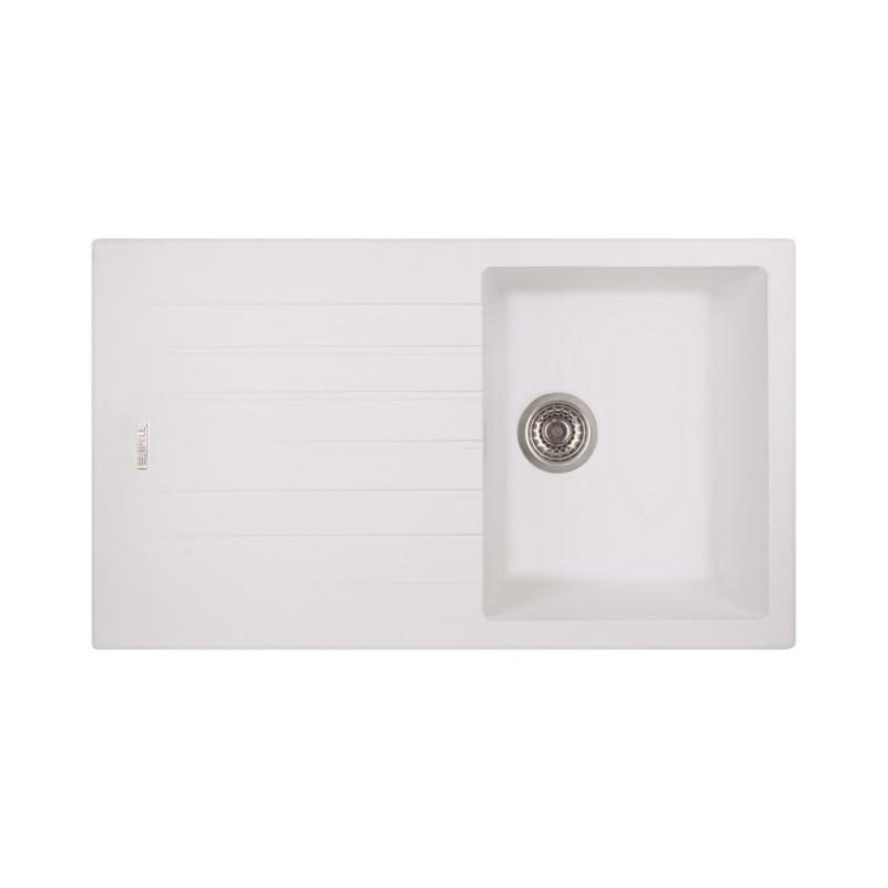 Кухонная мойка Apell PietraPlusPTPL861GWRIGHT/LEFT TOTALWHITE