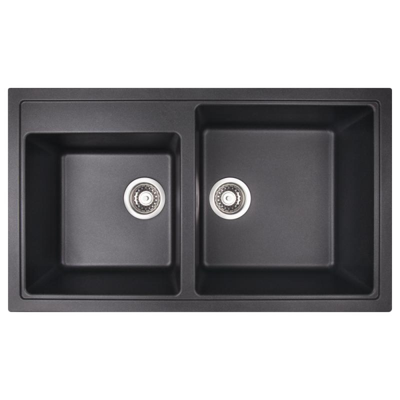 Кухонная мойка Apell PietraPlusPTPL862GB BLACKGRANIT