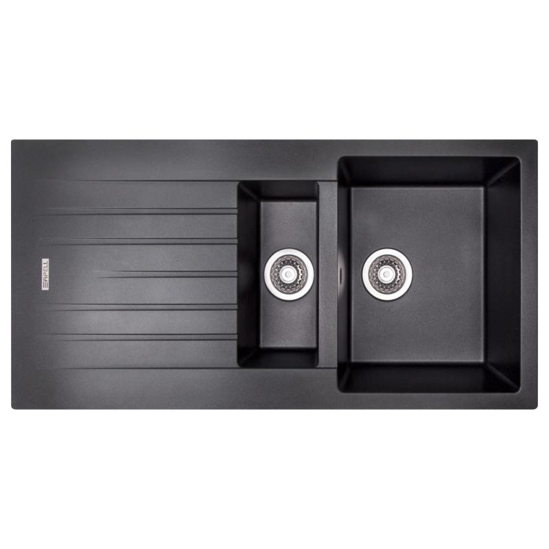 Кухонная мойка Apell PietraPlusPTPL1002GB BLACKGRANIT