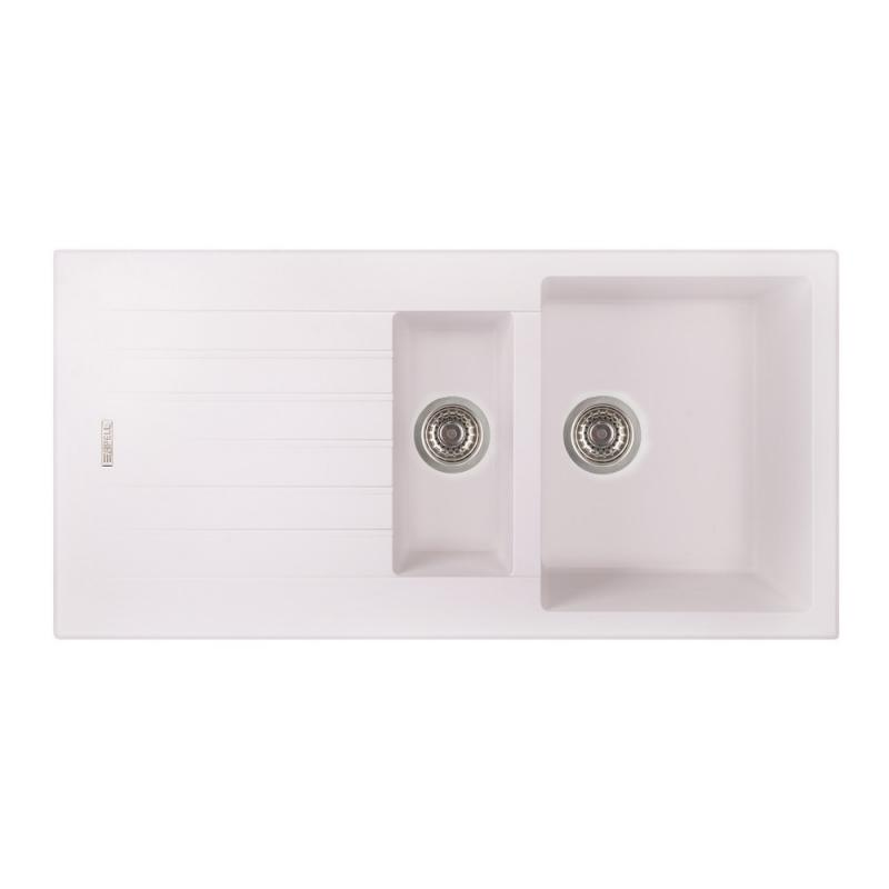 Кухонная мойка Apell PietraPlusPTPL1002GW TOTALWHITE