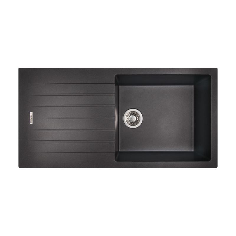 Кухонная мойка Apell PietraPlusPTPL1001GBRIGHT/LEFT BLACKGRANIT