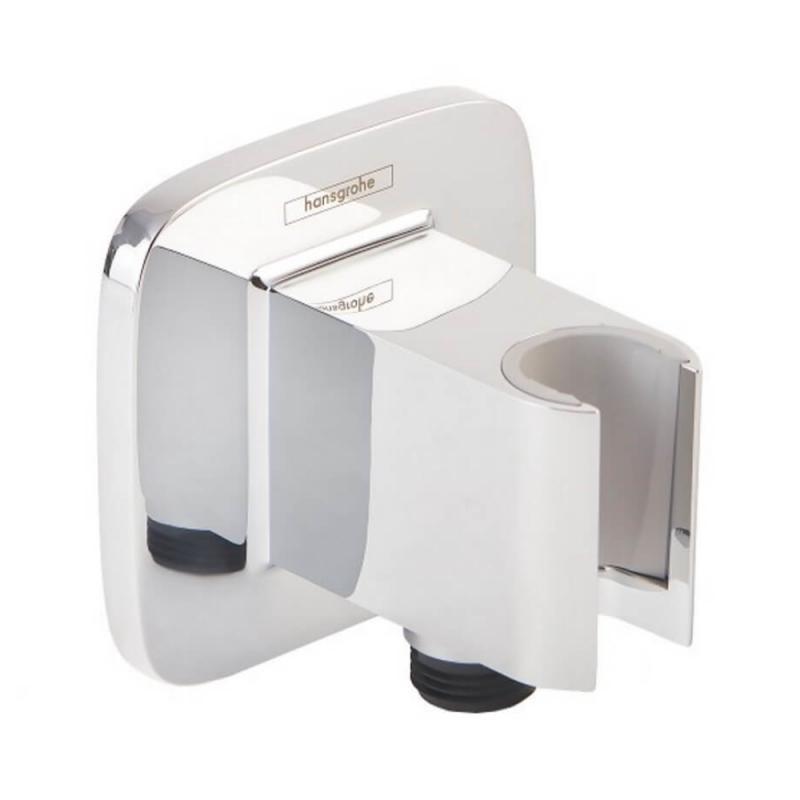 Подключение для душевого шланга с держателем лейки Hansgrohe Fixfit Porter E 26485000