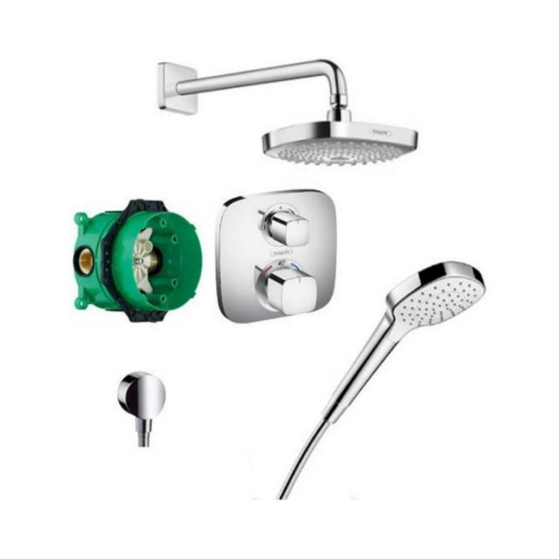 Душевая система с термостатом Hansgrohe Croma Select E 27294000