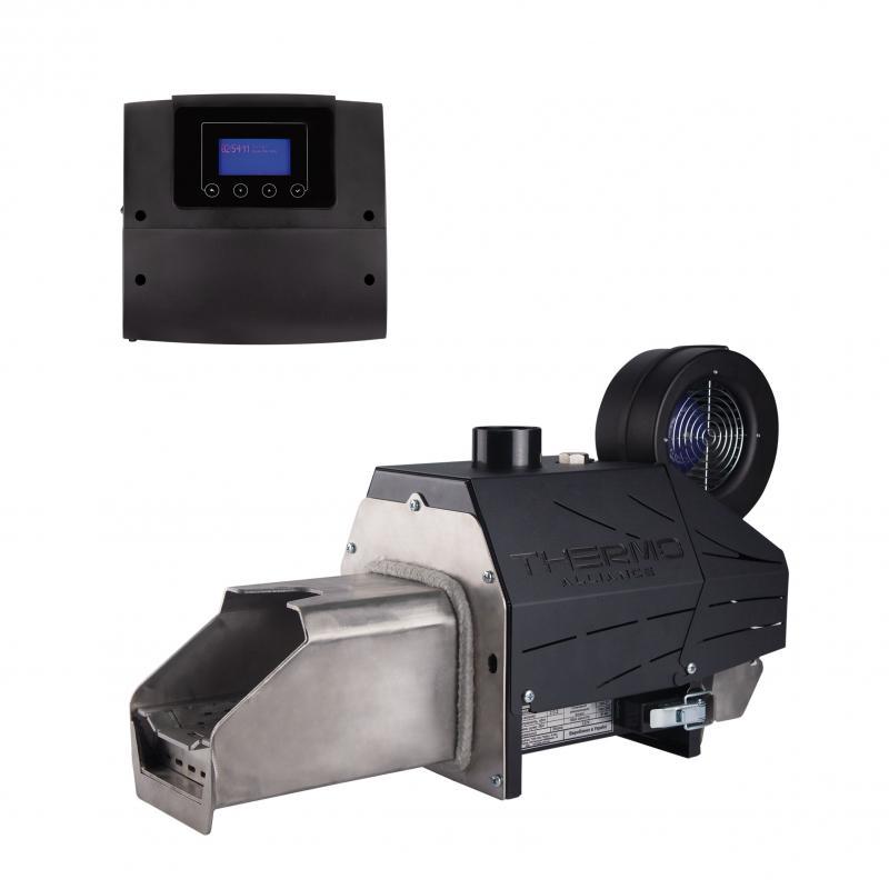 Пелетний пальник Thermo Alliance Evo 25 кВт + контролер ECOMAX 360 Plum