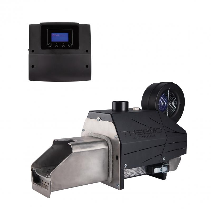Пелетний пальник Thermo Alliance Evo 50 кВт + контролер ECOMAX 360 Plum
