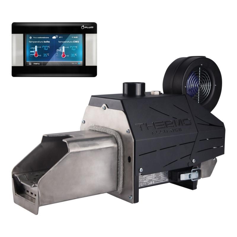 Пелетний пальник Thermo Alliance Evo 25 кВт + контролер ECOMAX 860 Plum