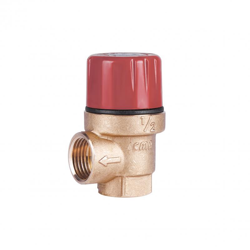 """Запобіжний клапан Ø1/2"""" вв (2,5 бар) """"Icma"""" Арт. 241"""