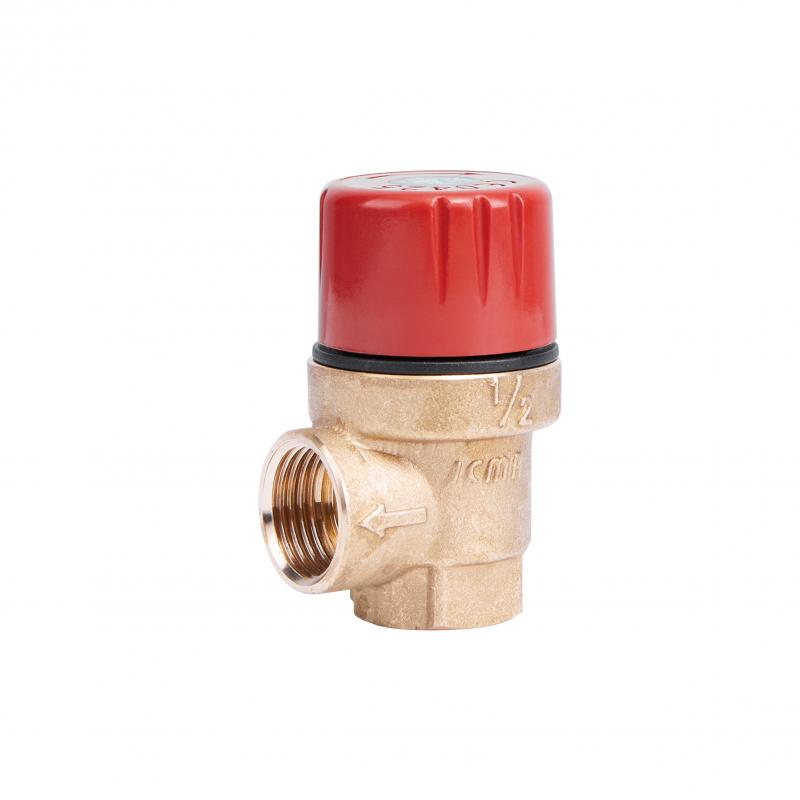 """Запобіжний клапан Ø1/2"""" вв (3,5 бар) """"Icma"""" Арт. 241"""