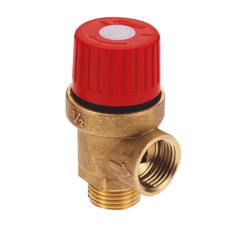 """Запобіжний клапан Ø1/2"""" вз (3,5 бар) """"Icma"""" Арт. 242"""