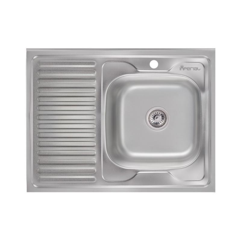 Imperial 6080-R Satin Кухонная мойка